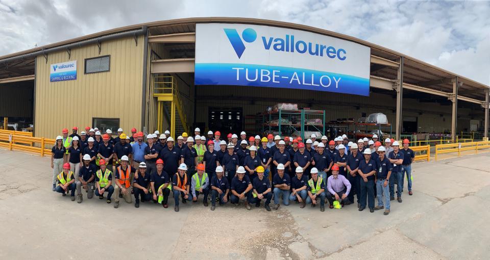 Vallourec Tube Alloy Group Photo