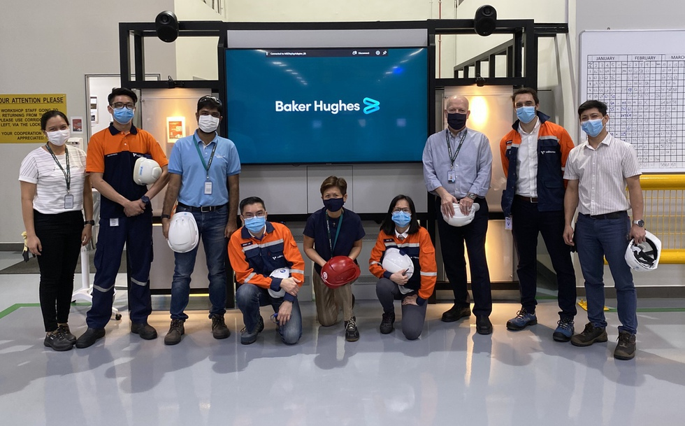 Group photo with Baker Hughes