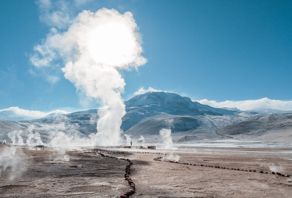 Geothermal project in Indonesia