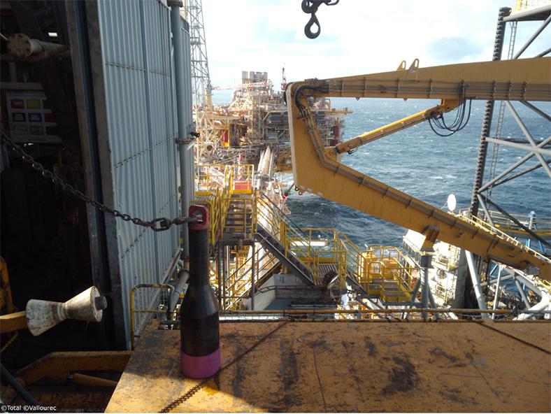 Première mondiale dans la fabrication d'équipements offshore