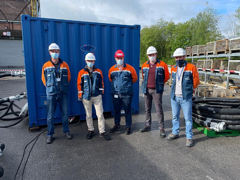 CCUS testing group photo