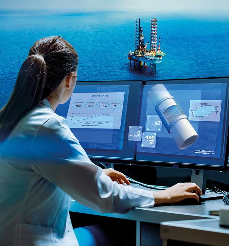 Avec 1 million de joints installés, VAM® 21 est la connexion de référence pour les compagnies pétrolières du monde entier